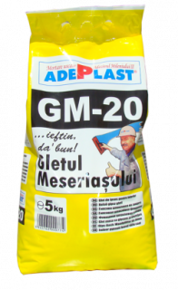 GM-20 – Gletul Meseriașului 5 kg / sac