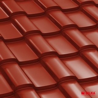 Bilka Iberic Tigla Metalica 0.5 mm Rosu Lucios RAL 3011