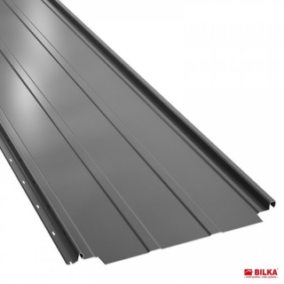 Bilka Retro Panel 0.5 mm Gri Lucios RAL 7024