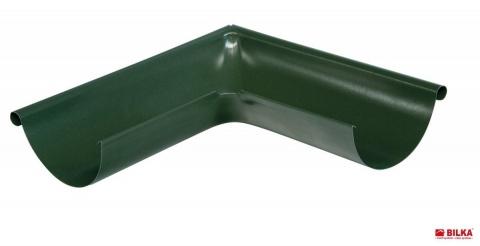 Bilka Coltar Exterior - Interior 90 grade125mm0.6mm Lucios VerdeRAL 6020