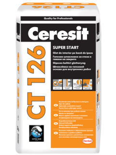 CT 126 Glet de Interior pe Baza de Ipsos 20 kg / sac