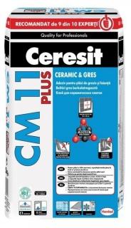 CM 11 PLUS Adeziv pentru Montarea Gresiei si Faiantei 25 kg / sac