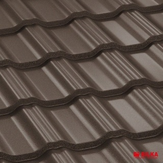 Bilka Gotic Tigla Metalica 0.6 mm Maro Inchis Mat RAL 8019