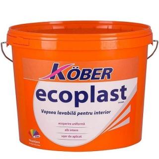 Vopsea lavabila de interior Ecoplast 15 L