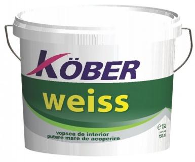 Vopsea lavabila de interior Weiss 15L